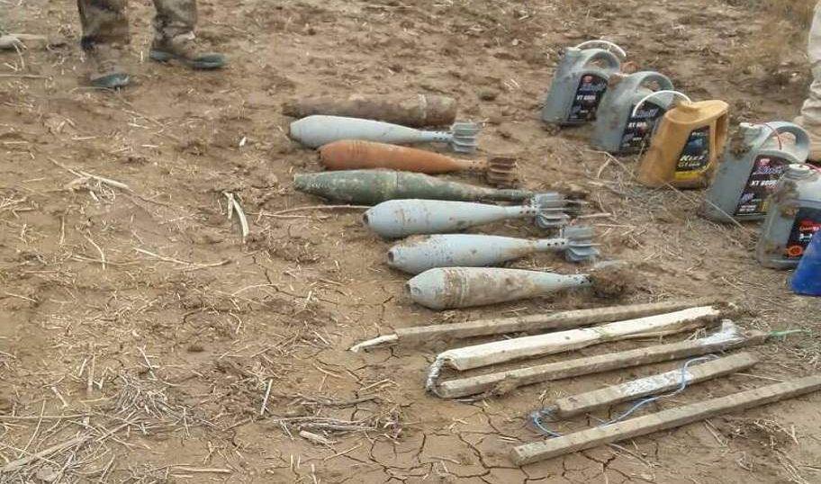 العثور على 13 قذيفة مدفع نمساوي في الموصل