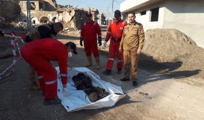 انتشال خمس جثث مجهولة الهوية في الموصل القديمة