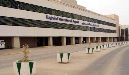 قصف صاروخي يطال محيط مطار بغداد