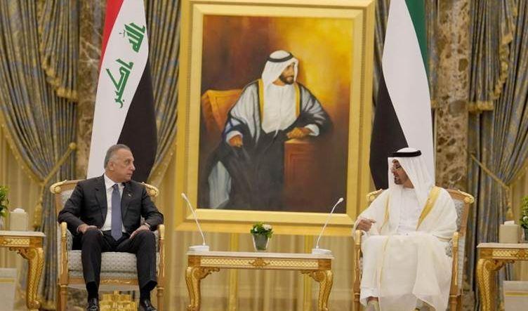 الكاظمي ومحمد بن زايد يبحثان
