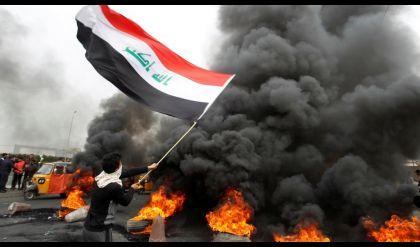 حقوق الانسان: مقتل واصابة 15 شخصا بصدامات بين المحتجين والقوات الامنية ببغداد