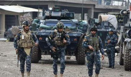 الشرطة الاتحادية تجري عملية لتعقب خلايا داعش بجزيرة سامراء باتجاه بحيرة الثرثار