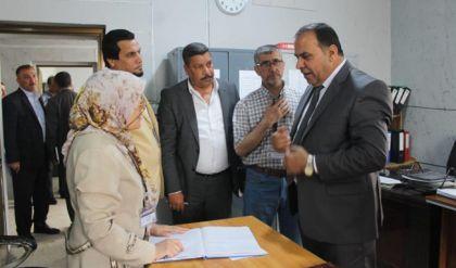 مدير عام الغذائية يتفقد مخازن الشركة في الموصل ويطلع على اليات تجهيز المواطنين