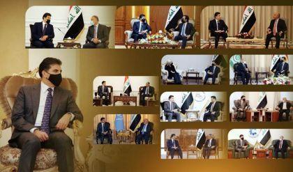 زيارة نيجيرفان بارزاني لبغداد.. الترجمة لمناخات ايجابية والحلول لعقد مستعصية