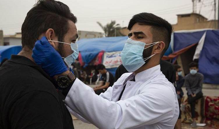 العراق.. تسجيل 53 حالة وفاة و3841 إصابة بفيروس كورونا