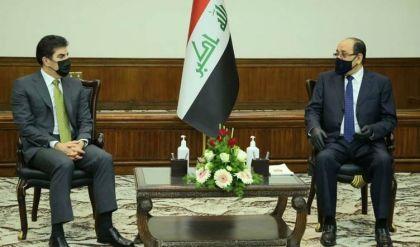 خلال اجتماعهما في بغداد.. المالكي يتعهد بزيارة أربيل قريباً تلبية لدعوة نيجيرفان بارزاني