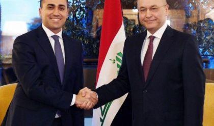 صالح يؤكد لوزير الخارجية الإيطالي ضرورة دعم استقرار العراق