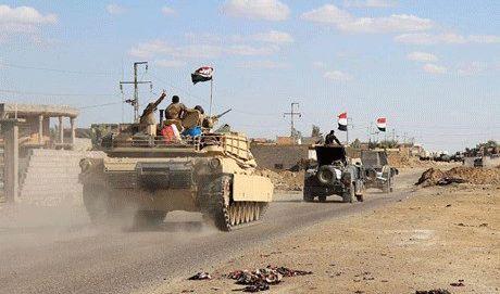 انطلاق عملية عسكرية كبرى في محافظات نينوى والانبار وصلاح الدين