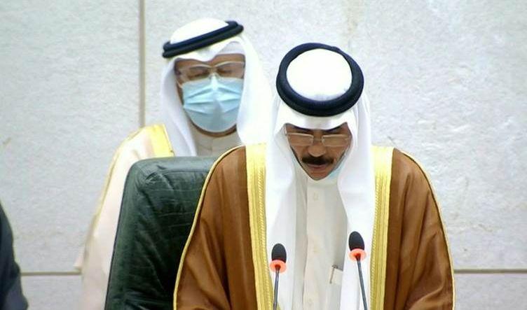 الأمير نواف الأحمد الجابر الصباح يؤدي اليمين الدستورية أمام البرلمان الكويتي