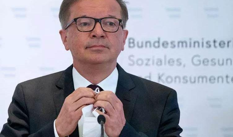 استقالة وزير الصحة النمساوي بسبب