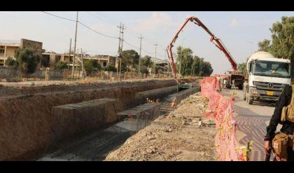 الاعمار تستأنف تنفيذ 8 مشاريع مجاري في مدينة الموصل