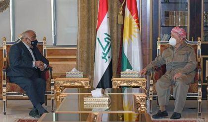 مسعود بارزاني وعبدالمهدي يبحثان تحديات العملية السياسية وملف الانتخابات