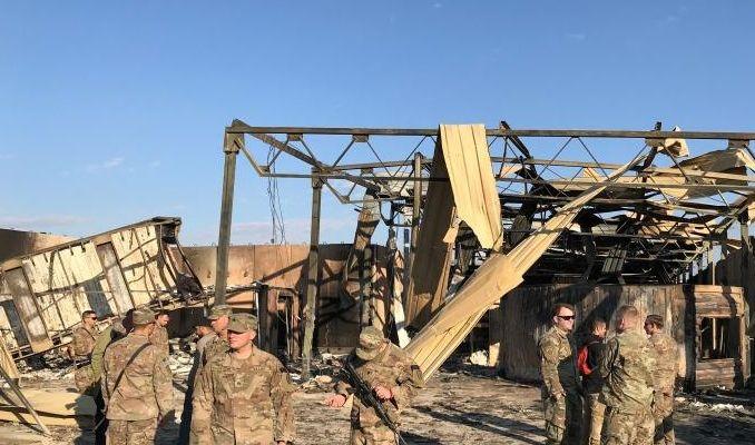 إرتفاع إصابات الجنود الامريكيين بالقصف الإيراني في العراق