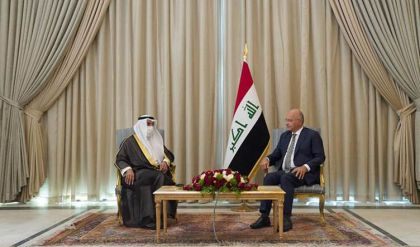برهم صالح: التحديات التي تمر بها المنطقة تستدعي تنسيق الجهود