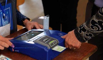 مفوضية الانتخابات تتعاقد مع شركة كورية لتأمين الأجهزة الإلكترونية بنحو 59 ألف محطة اقتراع