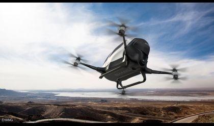 تدشين التاكسي الجوي بشكل تجريبي في سماء دبي