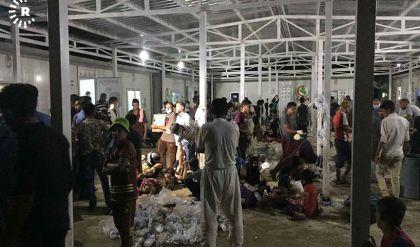وجبات إفطار فاسدة تتسبب بحدوث مئات حالات التسمم بمخيم لنازحي الموصل