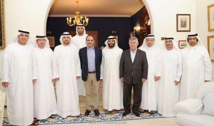 رئيس الاتحاد الإماراتي يشكر نظيريه العراقي والأردني