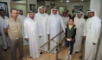 الجمعية الكويتية للاغاثة توفر الاطراف الصناعية لضحايا الارهاب في الموصل