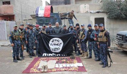 الاتحادية تقتل انتحاريا وتبحث عن اربعة اخرين جنوب الموصل