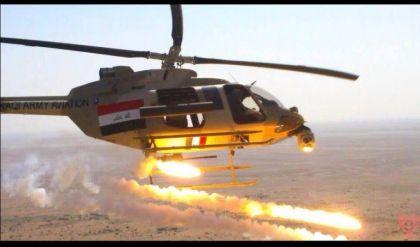 طيران الجيش العراقي يقتل 6 عناصر من داعش خلال محاولة الهجوم على