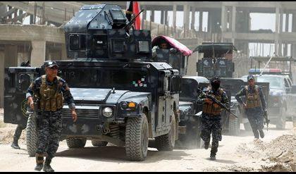 الشرطة الاتحادية تسيطر على شارع المستشفى بحي الشفاء بأيمن الموصل