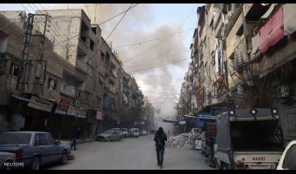 قتلى باشتباكات في الغوطة غداة الهدنة