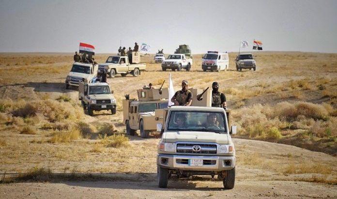 الحشد يعثر على اربع مضافات لداعش جنوب غرب الموصل