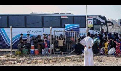 الأمم المتحدة تعرب عن قلقها إزاء عودة النازحين من نينوى إلى الأنبار وكركوك وصلاح الدين