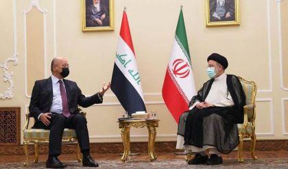 الرئيسان العراقي والإيراني يتطلعان لتعزيز العلاقات الثنائية