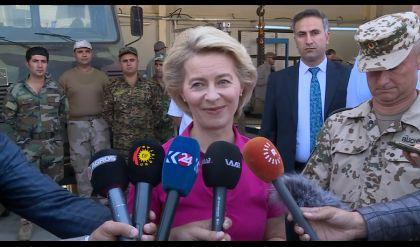 المانيا تدعو بغداد واربيل الى تنسيق عسكري في المناطق المتنازع عليها