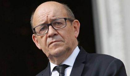 وزير الخارجية الفرنسي يصل بغداد
