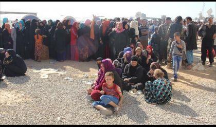 نزوح أكثر من 320 ألف مدني جراء العمليات العسكرية بالساحل الأيمن