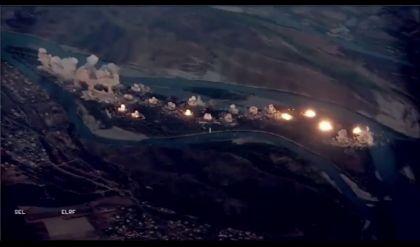 قيادة عمليات نينوى تعلن تطهير جزيرة كنعوص جنوبي المحافظة، والتحالف الدولي يؤكد اسقاط 36 طنا من القذائف على الجزيرة