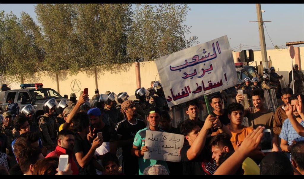 صحفيو البصرة يهددون بالتصعيد إذا لم يتم الكشف عن قتلة أحمد عبد الصمد وصفاء غالي
