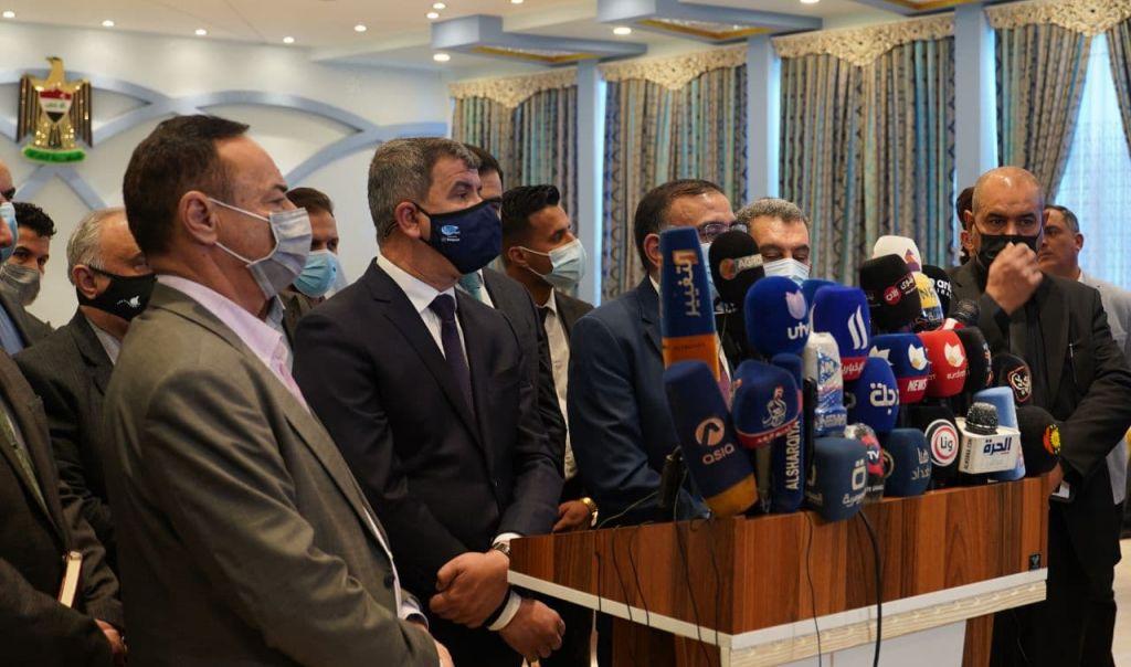 وزراء النفط والكهرباء في نينوى للاطلاع على واقعها الخدمي