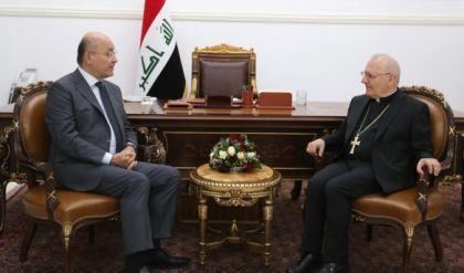 رئيس الجمهورية: زيارة بابا الفاتيكان المرتقبة للعراق تكتسب أهمية تاريخية