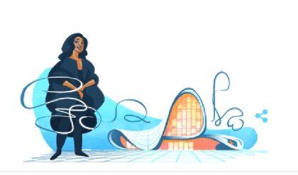 غوغل يحتفي بالمعمارية العراقية الراحلة زها حديد