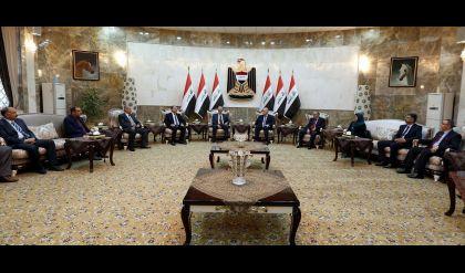 نائب رئيس الجمهورية يستقبل نخبة من أساتذة الجامعات العراقية