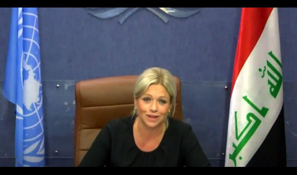 بلاسخارت تؤكد خلال لقاءها المفوضين الجدد دعم الامم المتحدة اجراء انتخابات نزيهة في العراق