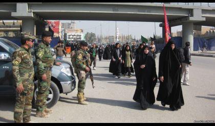 عمليات بغداد تعلن نجاح خطة تأمين زيارة الاربعين
