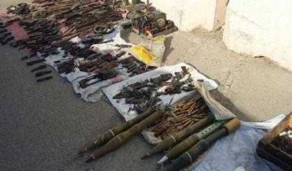 العثور على كميات من الاسلحة غرب نينوى