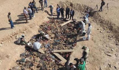 العراق يتسلم منحة مالية للبحث عن مقابر جماعية في سنجار