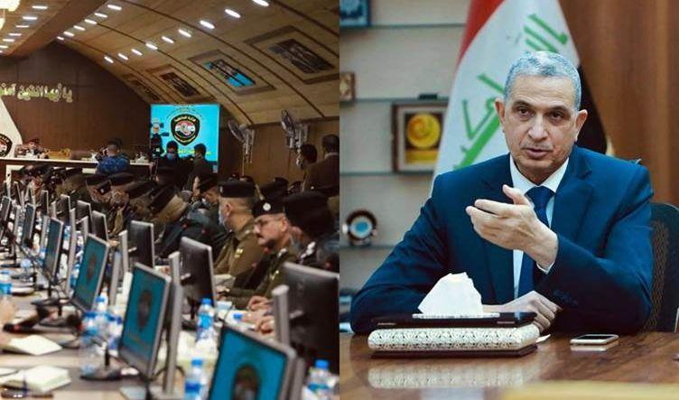 الغانمي يوجه قادة وزارته إلى تطبيق القانون