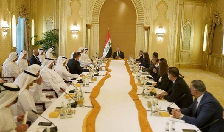 الكاظمي: أبواب العراق مفتوحة أمام الشركات الإماراتية ورجال الأعمال