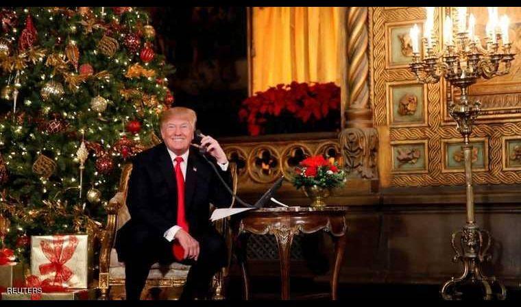 ترامب يفصح عن أمنياته في عيد الميلاد