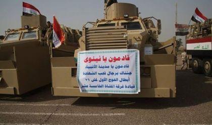 قادمون يانينوى تعلن تحرير حي المغرب في ايمن الموصل