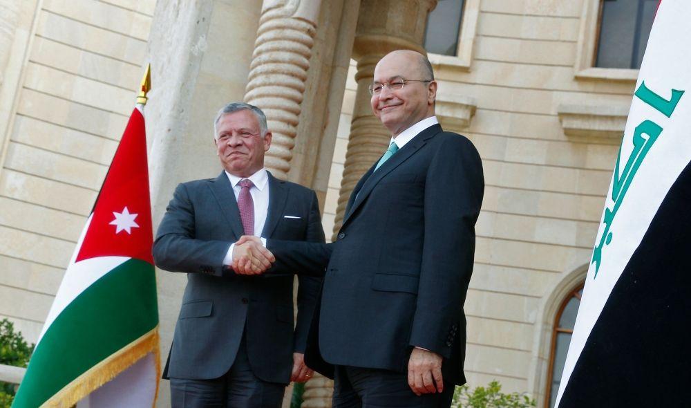 الرئيس صالح والملك عبد الله يتفقان على دور عراقي – اردني لتثبيت دعائم الاستقرار عربياً واقليمياً