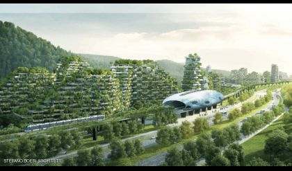 الصين تشيد أول مدينة مغطاة بالغابات في العالم