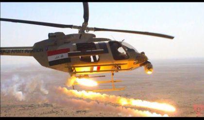 """تدمير مقر لـ""""داعش"""" ومعمل لتفخيخ العجلات في أيمن الموصل"""